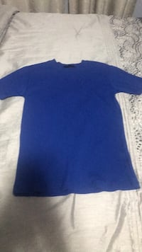 Blue short sleeve shirt Vaughan