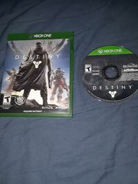destiny Xbox One game disc with case Seattle, 98125