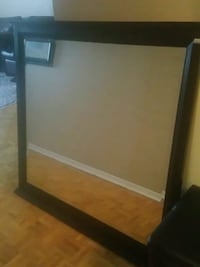 Big dresser mirror  dark brown