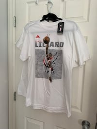 Brand new with tags Damien lilliard T-shirt Vancouver, V5P 3N3