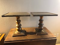 Two gold painted side tables San Antonio, 78215
