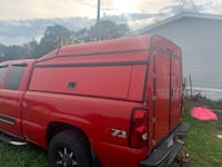Chevy topper Greenville, 48838