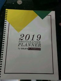 2019 photography business planner  Innisfil, L0L 1W0