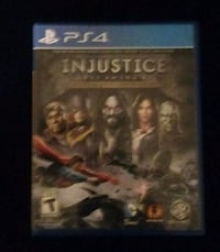 Injustice PS4 Baltimore, 21202