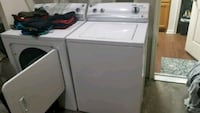 white top-load clothes washer and dryer Rockville, 20851