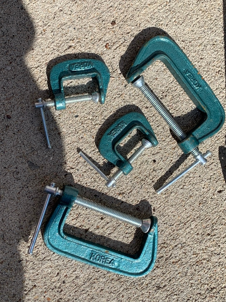 Photo Vintage Tools - Clamps