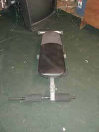 Exercise/weight bench