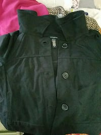 black button-up jacket Springfield, 01108