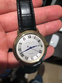 Men's Raymond Weil Gold plated watch 24 mi