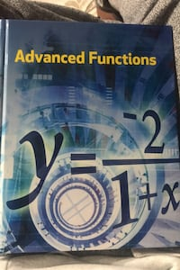 Advanced function textbook  Mississauga, L5G 4B2