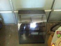 clear glass display case
