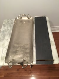 two black and gray leather bags Laval, H7G 2L5