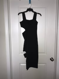 TOPSHOP Bodycon Homecoming Black Dress Size 4 Fairfax, 22030