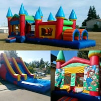 Bounce house and inflatables rental Stockton