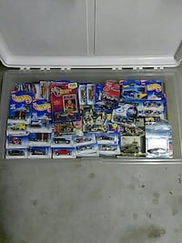 Hot Wheels car collection mint on card