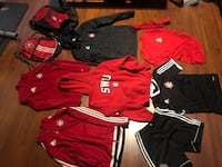 SWU soccer gear size small to medium  Edmonton, T6T 0B2