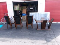 brown wooden dining table set Albuquerque, 87109