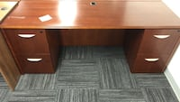 Brown Wooden 4-Drawer Office Desk Columbia, 21046