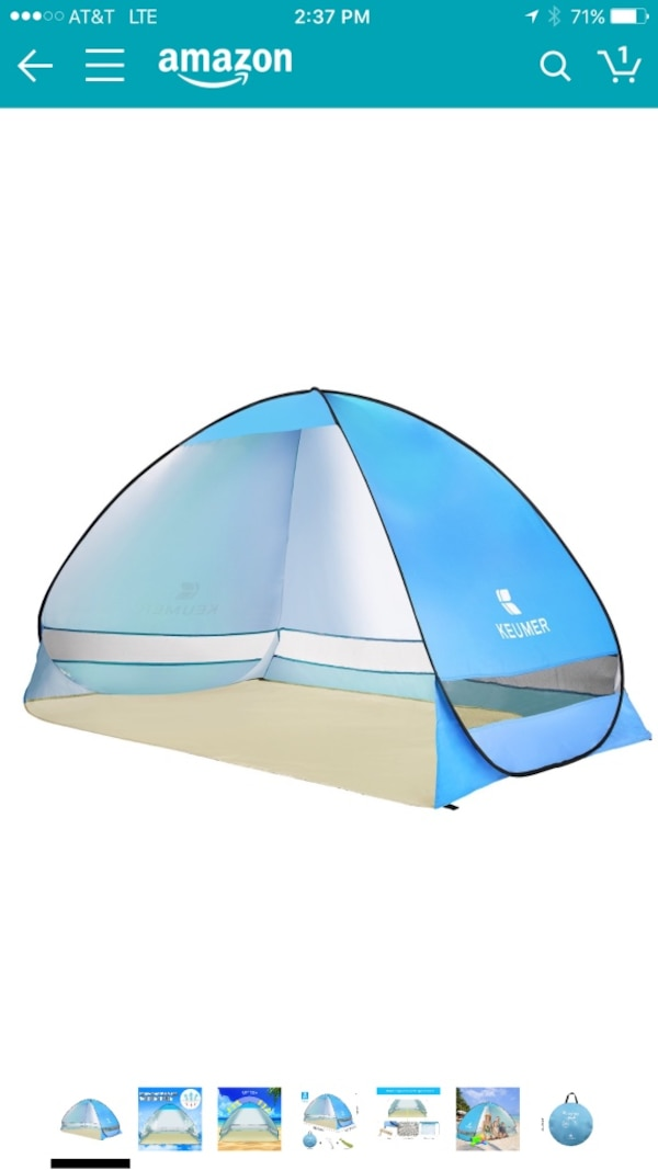 online store 9621e 971db BATTOP Pop Up Beach Tent Camping Sun Shelter Outdoor Automatic Cabana 2-3  Person Fishing Anti UV Beach Tent Beach Shelter, Sets up in Seconds ...