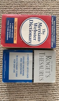 English dictionnary and thesaurus