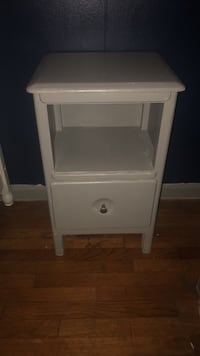 white wooden single-drawer end table North Augusta, 29841