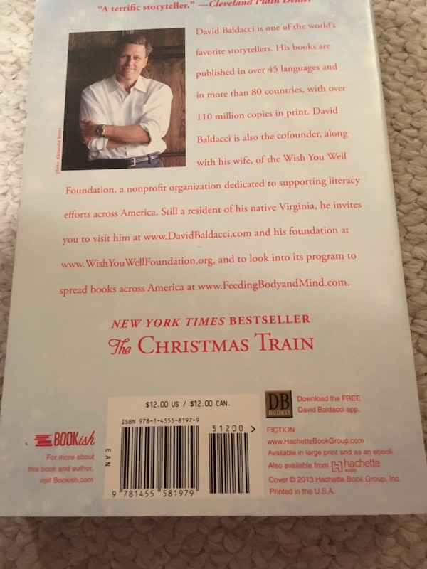 Christmas Train by David Baldacci book