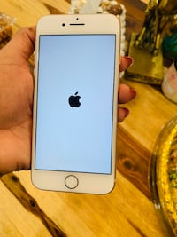 iPhone 8 64GB unlocked Gold white gently used