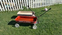 red and white Radio Flyer pull wagon North Las Vegas, 89031