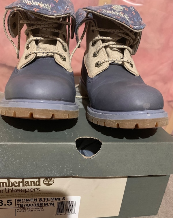 Slightly used timberland size 8.5 4c51fcb9-2d58-441a-8ef7-fa319fce2553