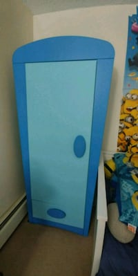 blue and white wooden cabinet ikea mummut North Vancouver, V7P 3E3