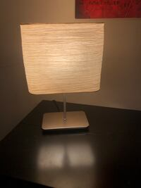 Table lamp paper shade