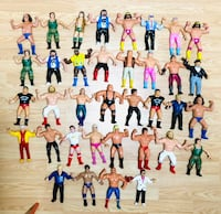 Vintage LJN WWE WWF Wrestling Figures In awesome to perfect shapes!