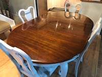 Cherry Oval Dining Table & Chairs Calgary, T3K