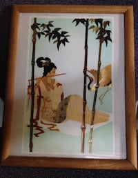 wooden framed painting  Woodbridge, 22193