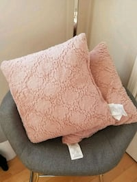 brown and white floral throw pillow Laval, H7X 1V9