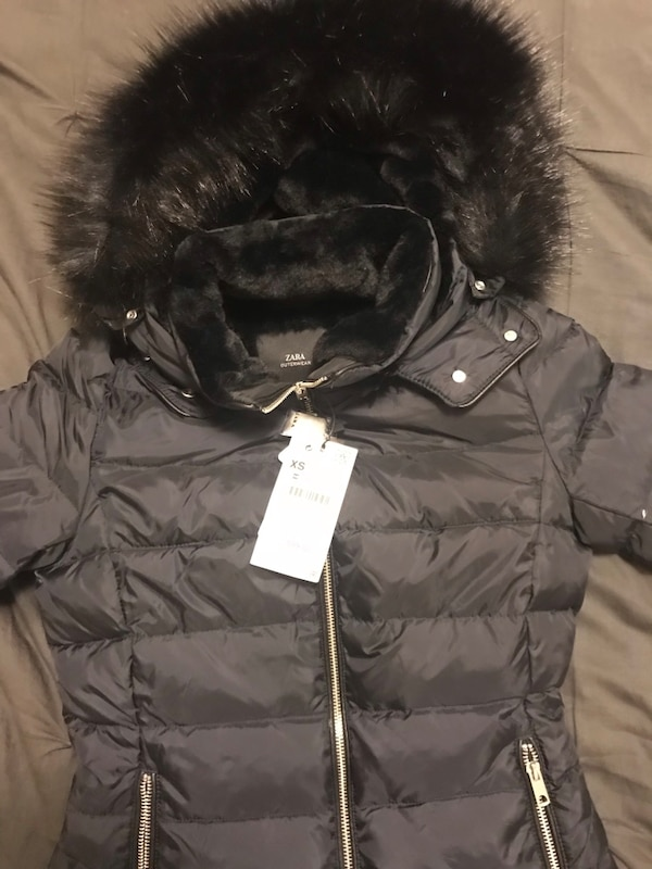 e3eae7c3e6 Brand new Zara for women Parka with fur hoodie. Brand new with tags size  medium.