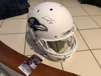 Lamar Jackson Autographed Full Size Baltimore Ravens Helmet with COA Washington, 20037