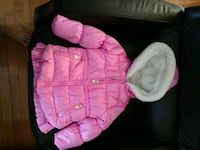 Pink OshKosh Coat - Faux Fur Girl's Sz. 3  Clinton, 20735