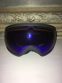 Electric snowboard goggles