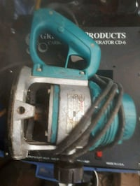 teal and silver plunge router Langley, V4W 1V6