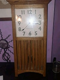 Linden wall grandfather clock Philadelphia, 19114