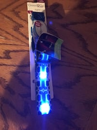 black and blue LED lanyard Harpers Ferry, 25425