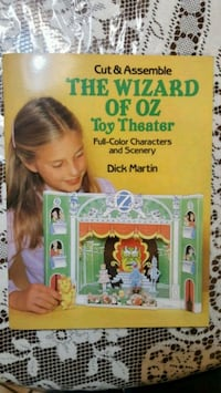 1980s Vintage Wizard Of Oz Cut Toy Theater Book  Brooklyn, 11220