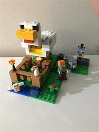 Lego Minecraft The Chicken Coop #21140 Markham