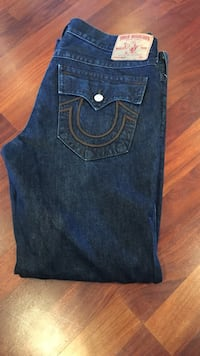 blue True Religion denim jeans Vancouver, V5V 4P2