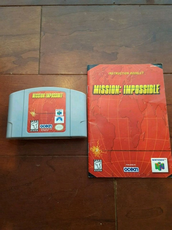 Nintendo Mission Impossible N64 0