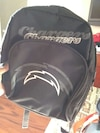 black chargers backpack