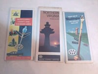 1976-7 AAA maps of DC, NVA & Montgomery County  Silver Spring, 20902