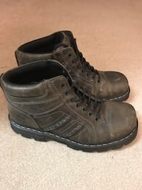 Dr. Martens leather boots. Buckle boots. Size 10 Sidney, 45365