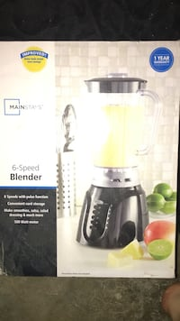 black Mainstay's 6-speed blender box Bakersfield, 93306
